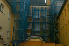 Nátěr fasády Fr. Lázně