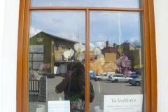 Renovace poškozeného nátěru euro okna